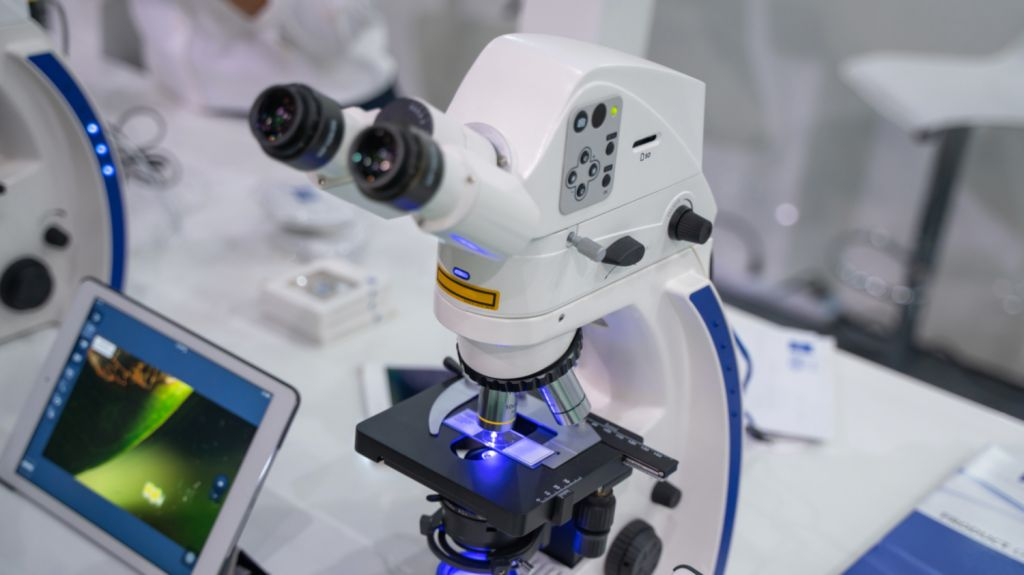 Biopsy Microscope - Rotary Way Oral Surgery, CA