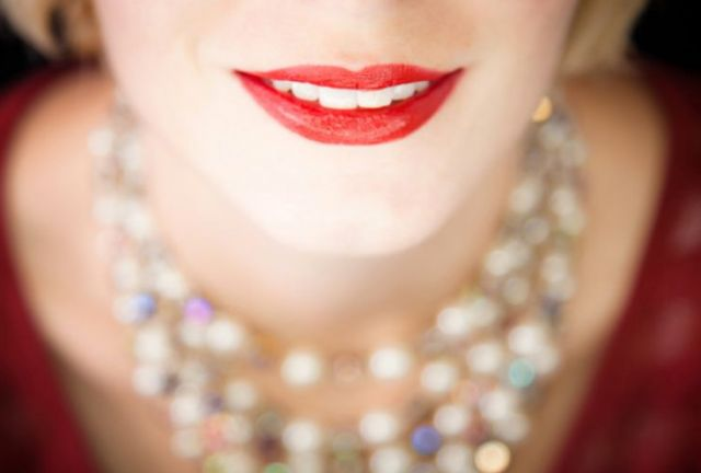 Closeup of glamorous woman smiling - Dental Implants Vallejo, CA